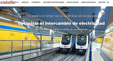 E-LOBSTER, proyecto para reducir las pérdidas de energía en el ferrocarril