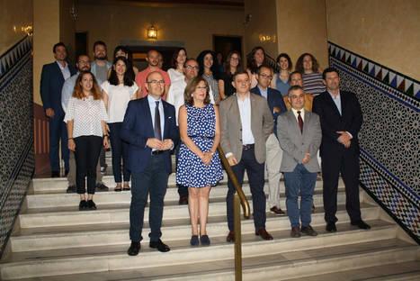 La Junta de Andalucía, UCO y Telefónica conceden las becas del programa Andalucía Open Future