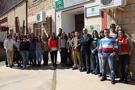 La Junta de Andalucía fomenta en Peñarroya-Pueblonuevo la inserción laboral a través de la Lanzadera de Andalucía Emprende