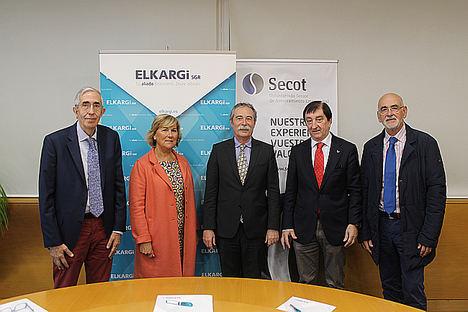 ELKARGI y SECOT unen esfuerzos para aportar más soluciones en el ámbito económico-financiero a proyectos emprendedores