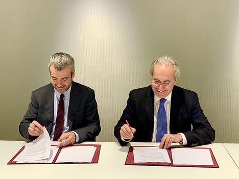 ENAIRE firma un convenio con Aena para ubicar su futura sede en el desarrollo inmobiliario de la T4 de AS Madrid-Barajas