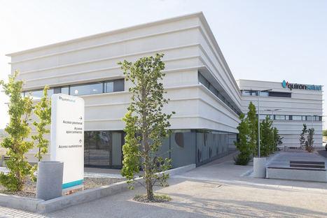 ENERO Arquitectura presenta el Centro Médico Quirónsalud Valle de Henares