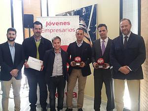 Entrega premios AJE a la Iniciativa Emprendedora y a la Trayectoria Empresarial