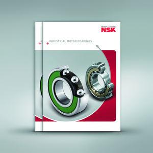 El nuevo catálogo de NSK permite acceder rápidamente a la amplia gama estándar de rodamientos para motores eléctricos de la compañía.
