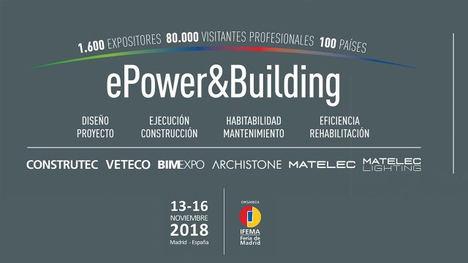 ePower&Building celebrará tres jornadas sobre sostenibilidad en la edificación organizadas por GBCe