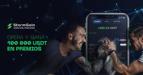 StormGain organiza el Coin Contest, el mayor torneo de trading cripto