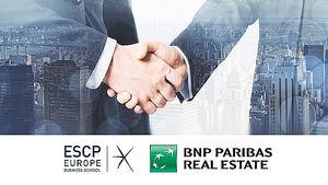 ESCP EUROPE y BNP Paribas Real Estate se unen para crear el Programa Avanzado en Real Estate