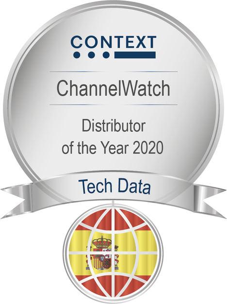 """CONTEXT reconoce a Tech Data como """"Mejor Mayorista de España"""" y """"Mayorista Más Innovador en España"""" en su edición 2020"""