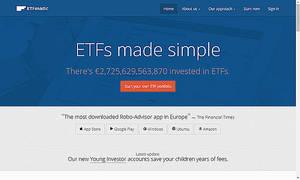 ETFmatic es la app Robo-advisor que ofrece una cartera personalizada diseñada en función del perfil de cada cliente