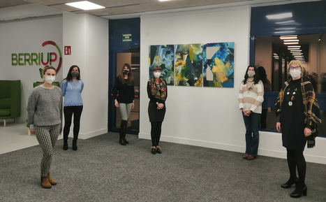 La artista donostiarra Marina Etxeberria inaugura el nuevo espacio BERRIUP GALLERY en San Sebastián