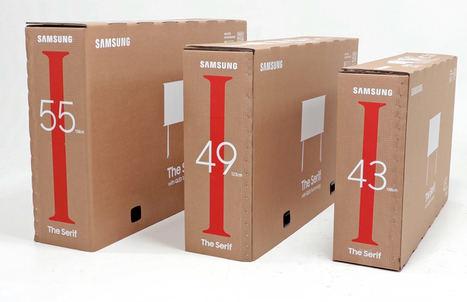 Samsung presenta su nueva gama de televisores Lifestyle con un embalaje sostenible