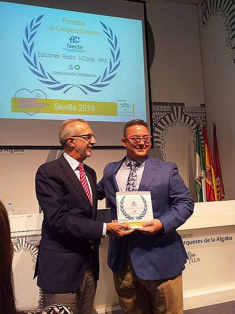 Ediciones Rodio recibe el Premio Provincial a la Consolidación Cooperativa 2019