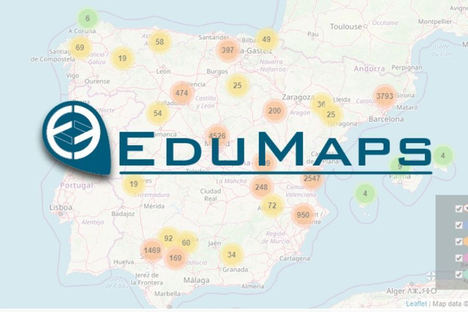 EduMaps ofrece el mayor directorio de centros, empresas e instituciones educativas de España