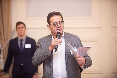 Eduard Gulyan, CEO de la Alianza de Comercio Euroasiática.
