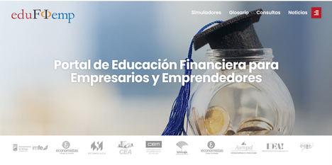 El Proyecto Edufinet de Unicaja estrena nueva web para su portal de educación financiera dirigido a empresarios y emprendedores