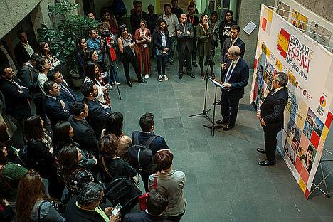 El Embajador de España inaugura la segunda edición de ESTUDIAR EN ESPAÑA MÉXICO