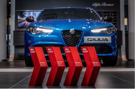 El Alfa Romeo Giulia se llena de premios en Alemania