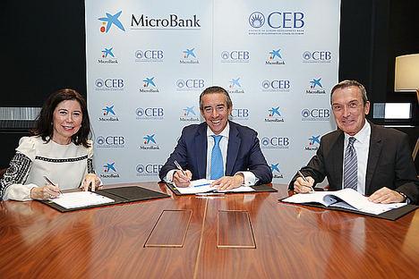 El Banco de Desarrollo del Consejo de Europa concede a MicroBank un préstamo de 100 millones de euros
