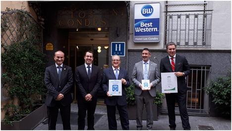 El Best Western Hotel Los Condes de Madrid, primer hotel de España en obtener el Sello Spatium® bySMDos
