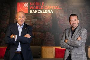 El CEO de Mobile World Capital Barcelona, Carlos Grau, y el CEO de Barcelona Tech City, Miquel Martí.