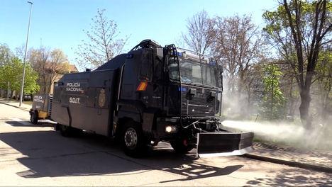 La Policía Nacional elige a Counterfog® para luchar contra la COVID-19