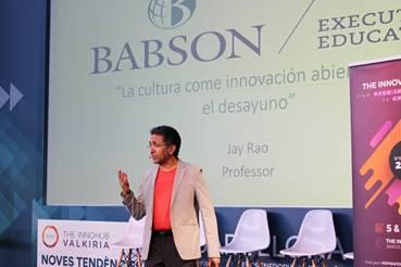 El Centro de Innovación Laboral Valkiria y la Universidad Babson College de Boston lanzan un programa de innovación empresarial