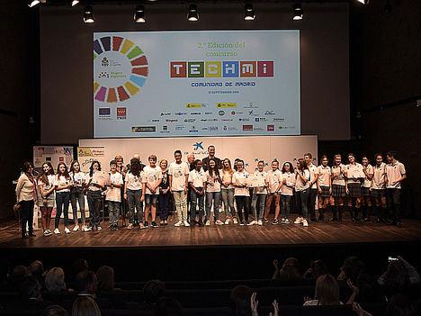 El Colegio Valdefuentes, ganador de la 2ª Edición del Concurso TECHMI Comunidad de Madrid