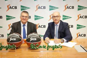 El Corte Inglés se convierte en Patrocinador Oficial de las competiciones ACB para las próximas temporadas