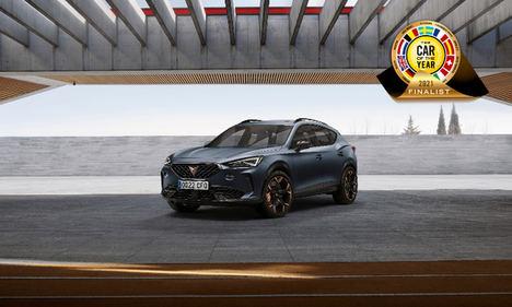 """El Cupra Formentor finalista del galardón """"Car of the Year 2021"""""""