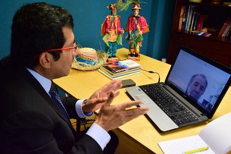 Nicaragua participa en reunión virtual con el secretario de la Fundación Gaspar García Laviana, España