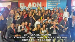 El Grupo RE/MAX Arcoiris, reconocido en la XXII Convención Nacional con 65 premios