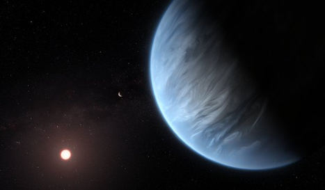 Por primera vez, se detecta vapor de agua en un exoplaneta en la zona habitable de su estrella