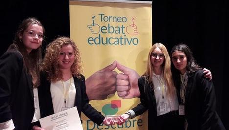 El IES Alto Almanzora de Tíjola (Almería), ganador del primer Torneo de Debate Educativo en Andalucía