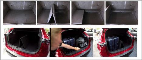 """El Mazda CX-30 incorpora el """"Smart Cargo Board"""""""