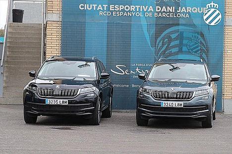 El RCD Espanyol y ŠKODA conducirán juntos por segunda temporada consecutiva