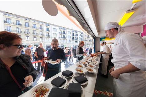 El Street Food de Gastronomika volverá a los porches del Kursaal.
