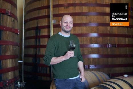 Elías López Montero, enólogo de Verum, finalista al premio Respected by Gaggenau en viticultura