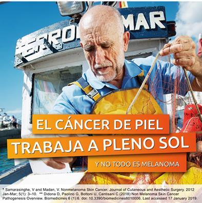 Pescadores, agricultores y obreros, entre los trabajadores con más riesgo de sufrir cáncer de piel no melanoma