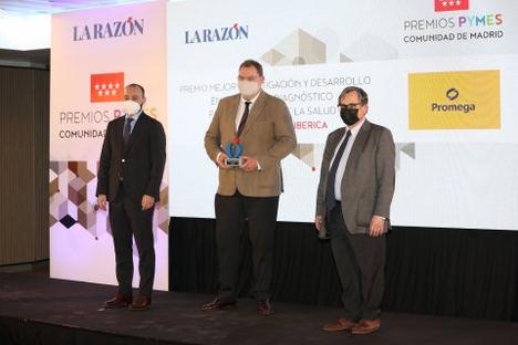 Promega Biotech Ibérica es premiado por su respuesta a la COVID-19 en España