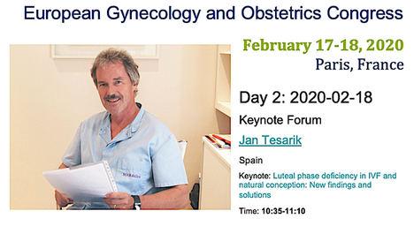 El doctor Jan Tesarik presentará en Paris los últimos avances para prevenir abortos espontáneos