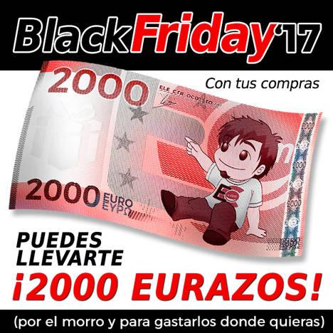 Electrocosto se apunta al Black Friday con descuentos de hasta el 50% y un sorteo de 2000€ en metálico