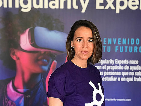 Elena Ibáñez, fundadora de Singularity Experts.