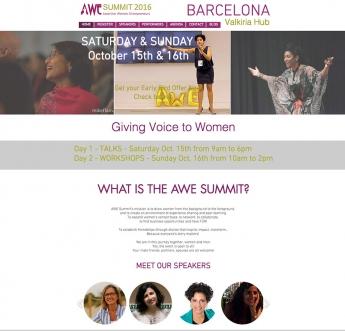 El evento internacional de motivación y liderazgo femenino AWE SUMMIT vuelve a Barcelona en octubre