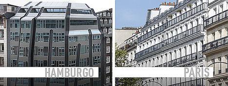 """El fondo de inversión inmobiliario de MAPFRE y GLL invierte 50 millones de euros en dos edificios de oficinas """"prime"""" en París y Hamburgo"""