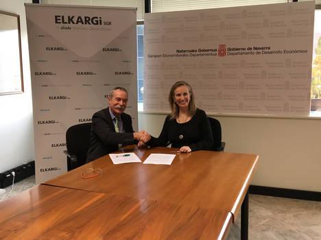Elkargi y Gobierno de Navarra firman un convenio para proyectos empresariales de la Comunidad Foral
