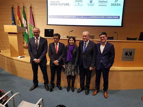 El laboratorio I+D más avanzado al sur de Europa para la conducción conectada abre sus puertas en Málaga y ofrece ya un entorno de pruebas