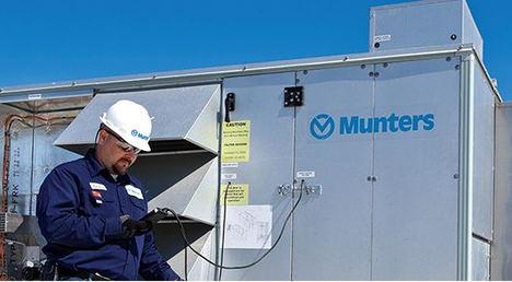 El líder mundial en tratamiento de aire Munters implementará IFS FSM en todo el mundo