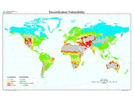 Angola declara la guerra a la desertificación