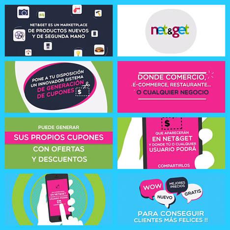 El marketplace net&get lanza una nueva app para cupones virtuales