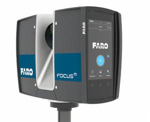 El nuevo escáner láser FARO® FocusM 70 establece un nuevo estándar de entrada en la relación precio/rendimiento para profesionales de la construcción y la seguridad pública